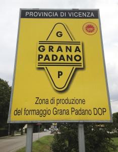 Territorio di produzione Dop