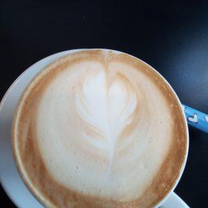 Il cappuccino con la schiuma