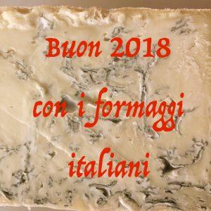 Un 2018 all'insegna del formaggio d'eccellenza