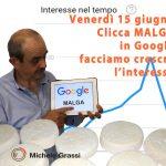 """Clicchiamo """"Malga"""" in Google, per far crescere l'interesse"""